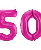Folie ballon 50 jaar 86 cm