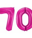 Folie ballon 70 jaar 86 cm