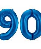 Folie ballon 90 jaar 86 cm 10089940