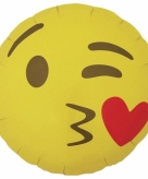 Folie ballon hart smiley 46 cm 10079950
