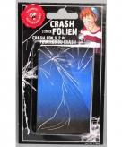 Fop sticker gebroken glas voor mobiel 2 stuks