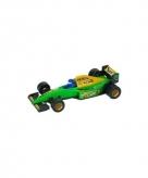 Formule 1 racewagen modelauto groen