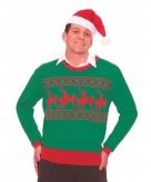 Foute kersttruien met rendiertjes