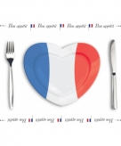 Franse placemats van papier 500 stuks