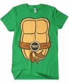 Fred ninja turtle shirt kostuum voor volwassenen
