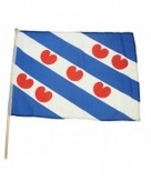 Friesland zwaaivlag lichtblauw
