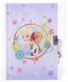 Frozen dagboek met slot lila
