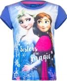 Frozen shirt korte mouw violet voor meiden