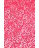 Fuchsia roze tafelloper 150 x 40 cm