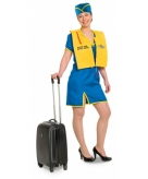 Funny stewardess uniform voor dames