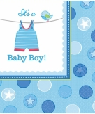 Geboorte jongen servetten its a baby boy