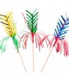 Gekleurde feestprikkers 8 stuks