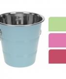 Gekleurde ijs emmer voor koude drankjes