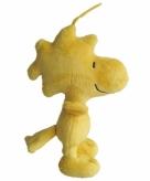 Gele knuffel vogel woodstock 19 cm