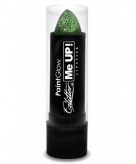 Glitter lipstick groen