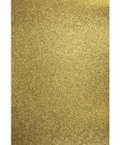 Glitterend goud hobby papier