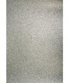 Glitterend zilver hobby papier