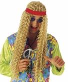 Golvende pruik hippie