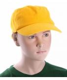 Goud kleur kinder caps
