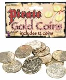 Goud piraten geld 12 munten