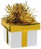 Goud zilver ballon gewicht cadeaudoosje 175 gram