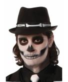 Grafgravers trilby hoed met botten
