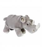 Grijze neushoorn knuffeldier 33 cm