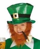 Groene sint patricks day hoed