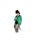 Groene slipjas dames