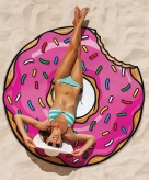 Grote donut strandhanddoek 150 cm