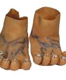 Grote nep voeten