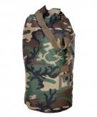 Grote plunjezak met camouflage print 90 cm