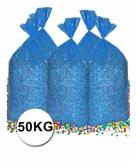 Grote zak confetti 50 kg gerecyclede kranten
