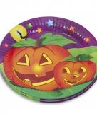 Halloween bordjes 10 stuks