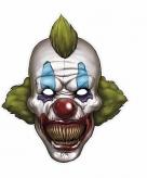 Halloween clown masker 30 x 35 cm