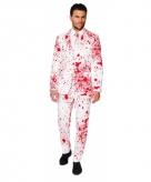 Halloween kostuum met bloedspatten