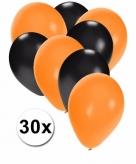 Halloween thema ballonnen pakket 30 stuks