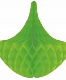 Hangdecoratie kroonluchters groen 35 cm