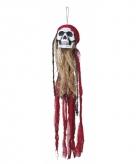 Hangdecoratie piraat schedel 90 cm