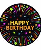 Happy birthday thema bierviltjes