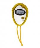 Hardloop stopwatch geel