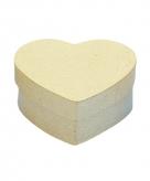 Hartvormig knutsel doosje 10 cm