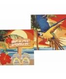 Hawaii servetjes 33 x 33 cm