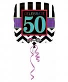 Helium ballon 50 jaar geworden