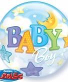 Helium ballon geboortje jongetje