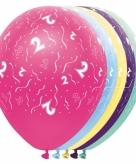 Helium leeftijd ballon 2 jaar