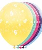 Helium leeftijd ballon 5 jaar