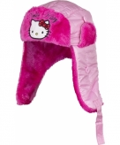 Hello kitty sherpamuts roze met fuchsia