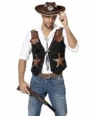 Heren cowboy vest
