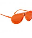 Hippe supportersbril oranje